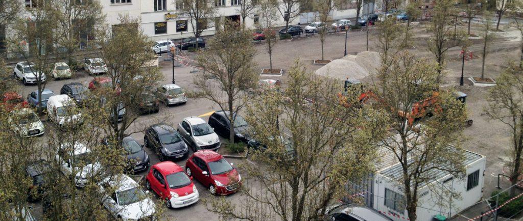 Travaux : stationnement réduit au parking Buffon pour de nouveaux services en juin | M+ Mulhouse