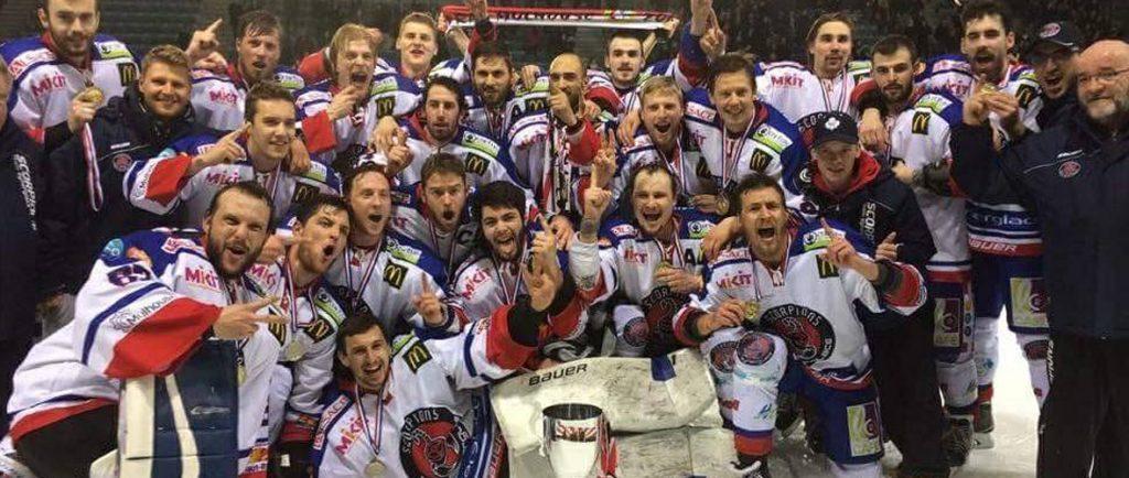 Hockey sur glace : champions ces Scorpions !   M+ Mulhouse