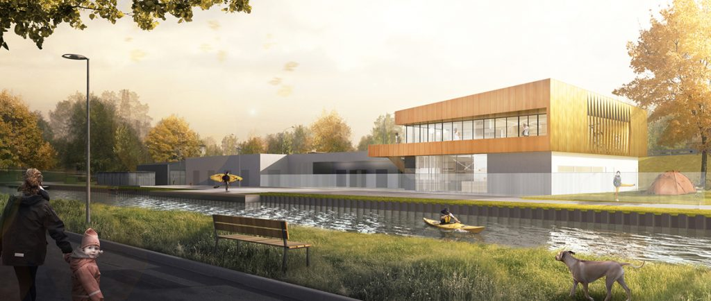 Une nouvelle base nautique pour le canoë-kayak | M+ Mulhouse