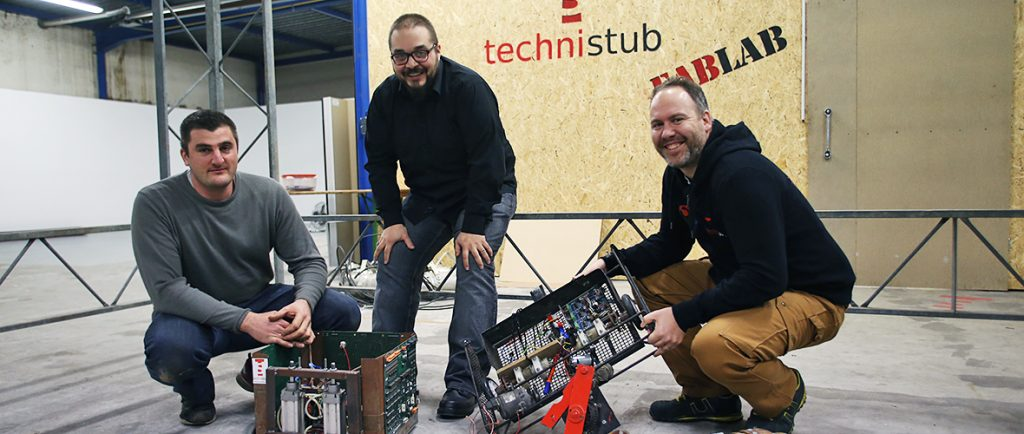 Les robots entrent dans l'arène avec Makerfight | M+ Mulhouse