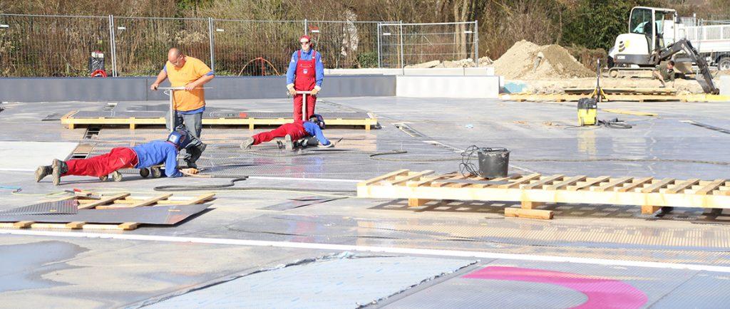 Travaux : grand lifting au stade nautique | M+ Mulhouse