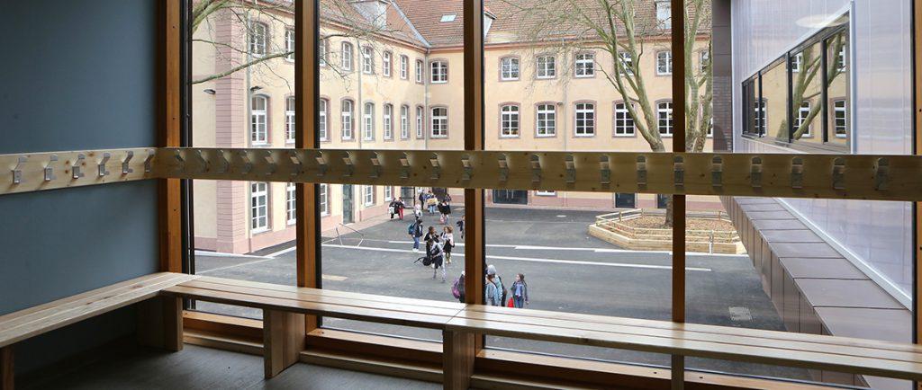 Cour de Lorraine : une si belle école ! | M+ Mulhouse