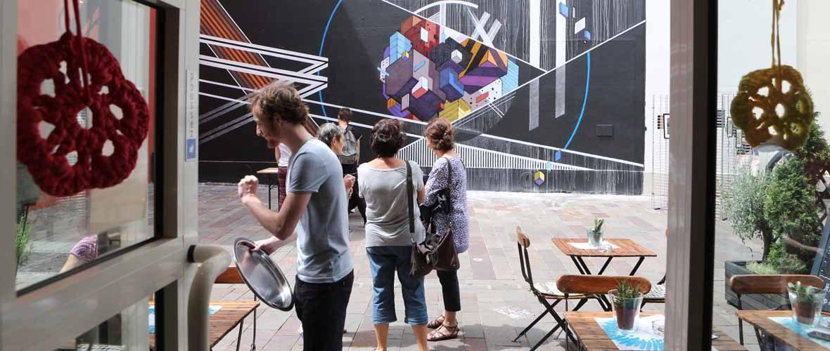 Arterrasse ou l'art de fêter le retour des terrasses en centre-ville | M+ Mulhouse