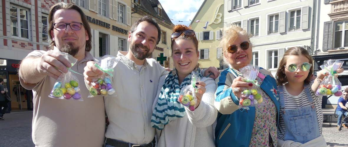 Les commerçants mulhousiens mobilisés pour fêter Pâques   M+ Mulhouse