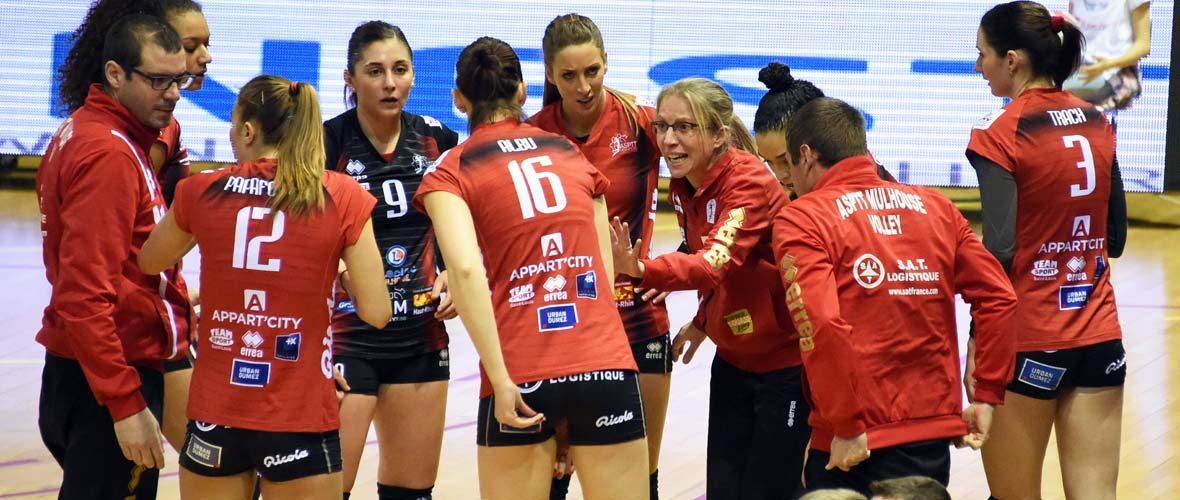Volley-ball: l'Asptt Mulhouse gonflée à bloc pour les play-offs | M+ Mulhouse