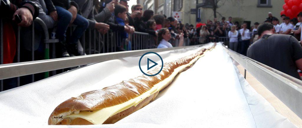 VIDÉO : la Moricette la plus grande du Monde à Mulhouse | M+ Mulhouse