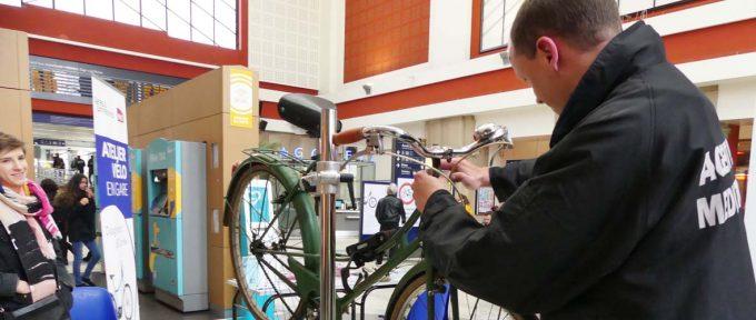 Révisez votre vélo gratuitement en gare de Mulhouse