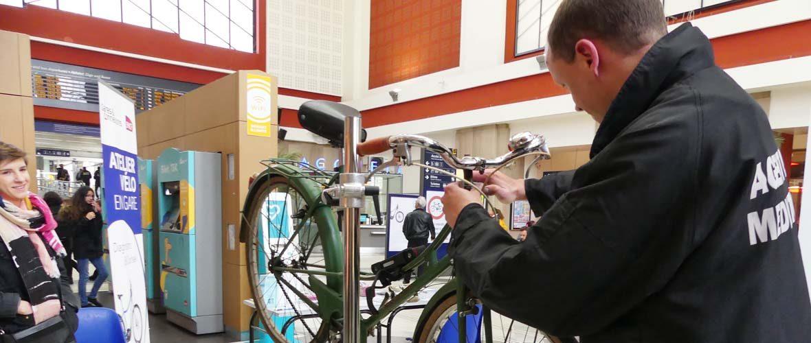 Révisez votre vélo gratuitement en gare de Mulhouse | M+ Mulhouse