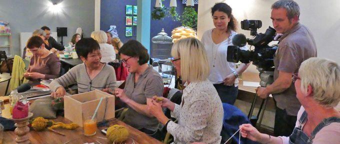L'atelier tricot de Mulhouse bientôt au journal télévisé de France 2