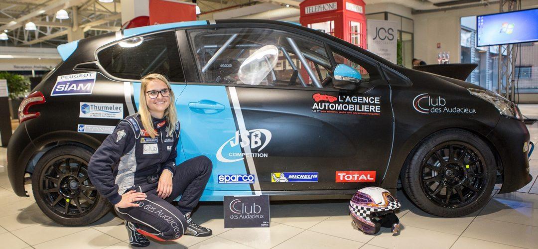 Sport automobile : Ilona Bertapelle en route pour gagner la 208 racing cup ! | M+ Mulhouse