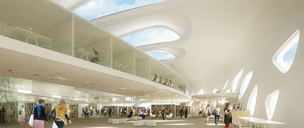 Learning center de l uha la p dagogie et l architecture - L architecture de demain ...