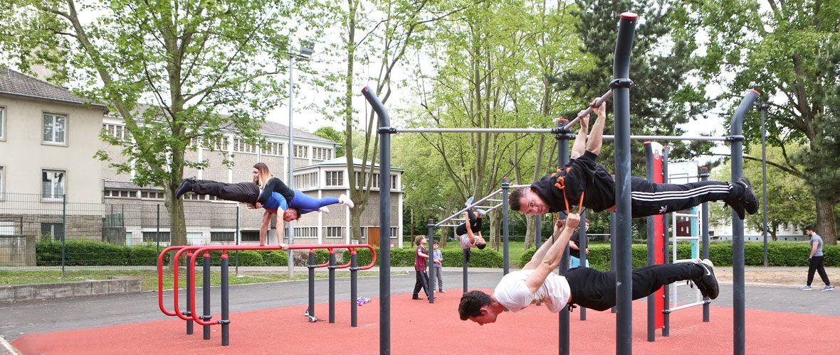 De nouveaux équipements sportifs pour tous au Drouot | M+ Mulhouse