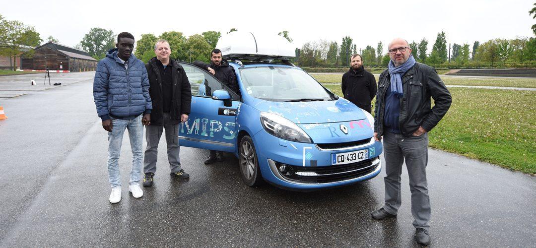 Sympha : la voiture autonome made in Mulhouse ! | M+ Mulhouse