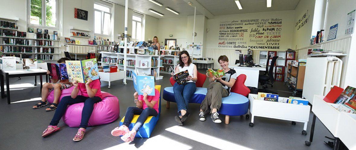 La «nouvelle» bibliothèque de Dornach inaugurée | M+ Mulhouse