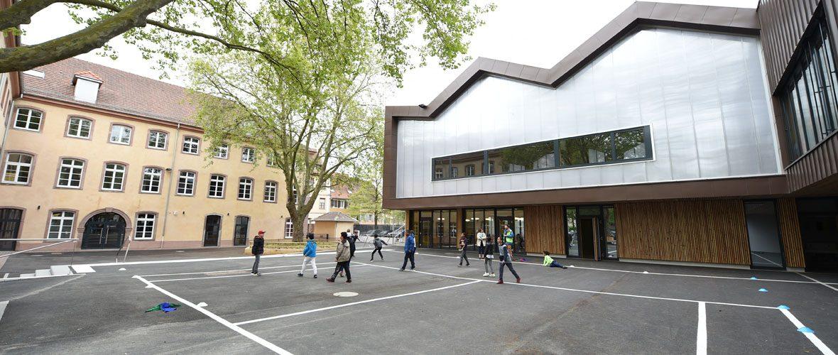 L'école Cour de Lorraine rénovée du sol au plafond | M+ Mulhouse