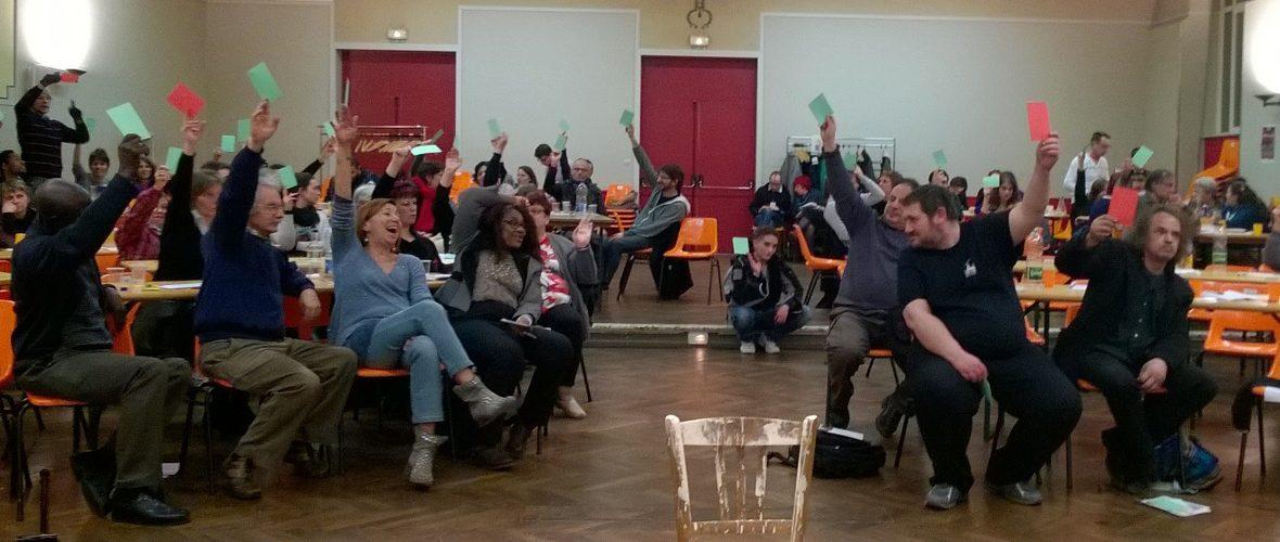Théâtre législatif, s'interroger et avancer sur des problématiques sociales   M+ Mulhouse
