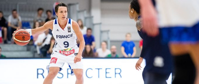 Les basketteuses de l'équipe de France à Mulhouse