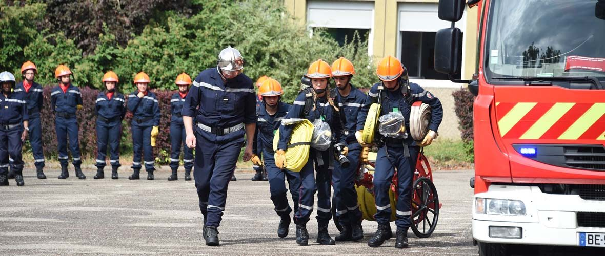 Collégiens et apprentis soldats du feu | M+ Mulhouse