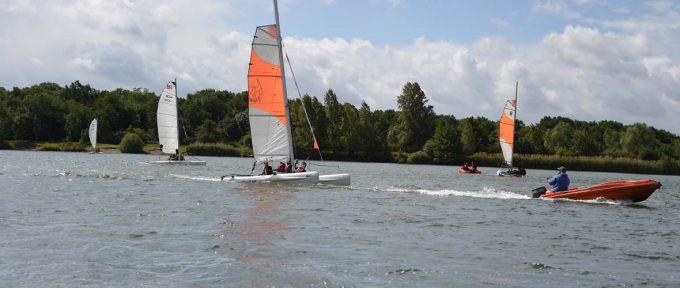 Club de voile de Mulhouse: Oh ! Des bateaux!