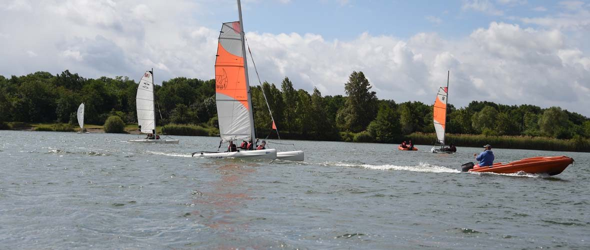 Club de voile de Mulhouse: Oh ! Des bateaux! | M+ Mulhouse