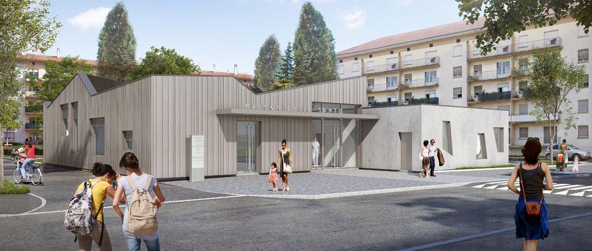 Une nouvelle Maison de santé à Bourtzwiller en 2018   M+ Mulhouse