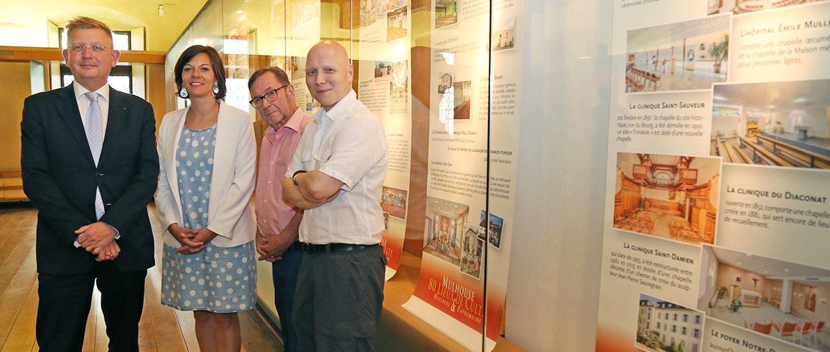 Des historiens se lancent dans l'écriture d'une bible des lieux de culte | M+ Mulhouse