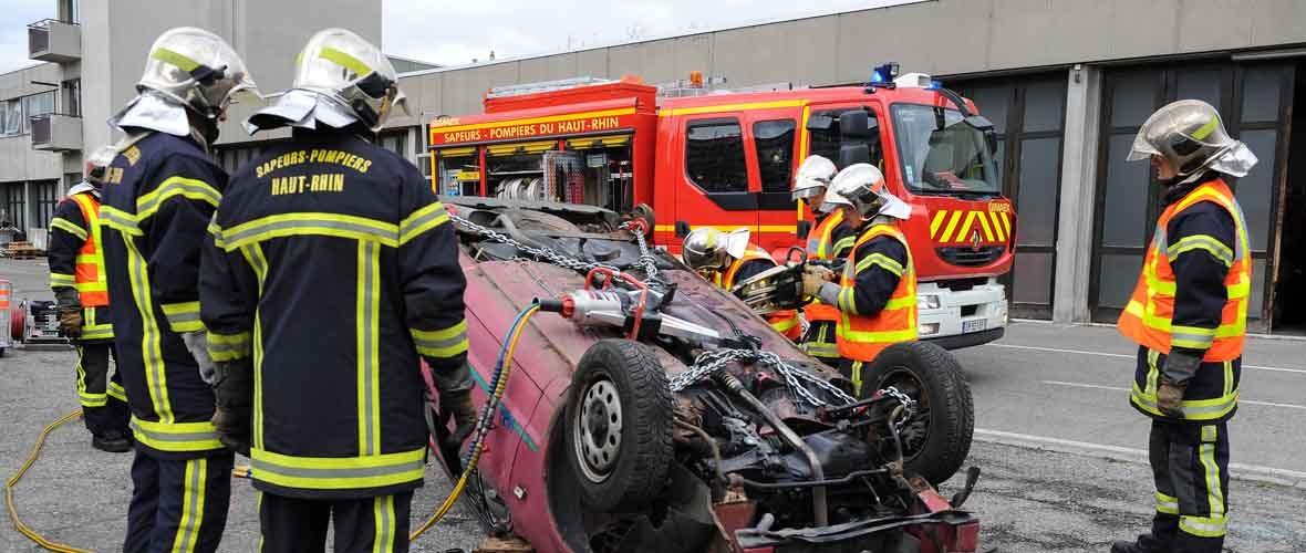 Portes ouvertes chez les sapeurs-pompiers de Mulhouse