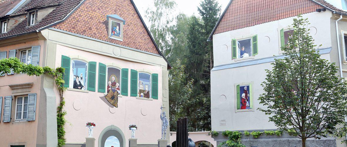 La fresque Les Mulhousiens retrouve sa jeunesse | M+ Mulhouse