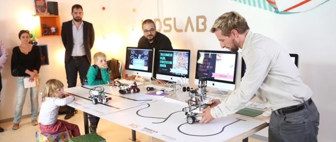 Kidslab, le labo des enfants pour aborder les nouvelles technologies