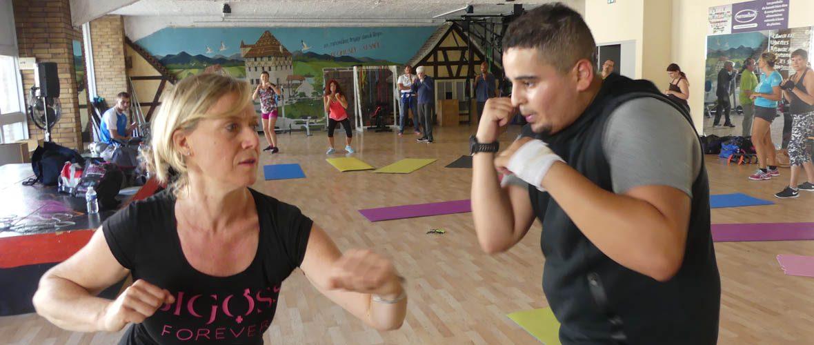 Pratiques sportives ouvertes: on a testé le cardio-boxing! | M+ Mulhouse