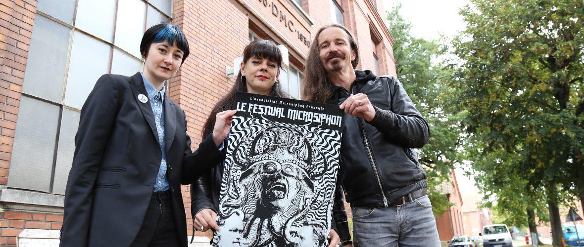 Impressions fait main et rock au programme de Microsiphon   M+ Mulhouse