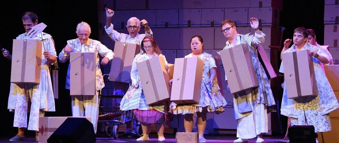 Troisième rideau : un théâtre avec des acteurs peu communs   M+ Mulhouse