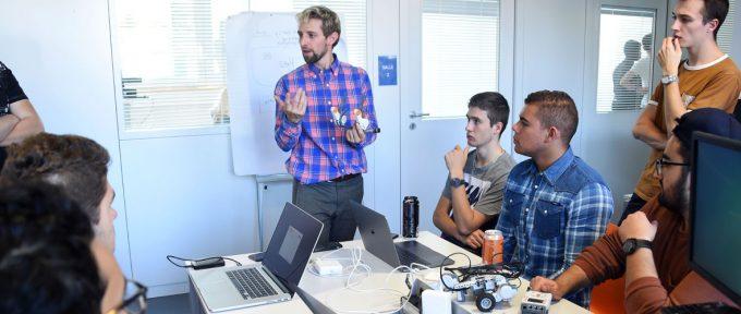 Un défi robotique pour lancer la Fête de la science