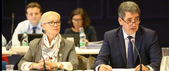 Michèle Lutz, maire de Mulhouse par intérim