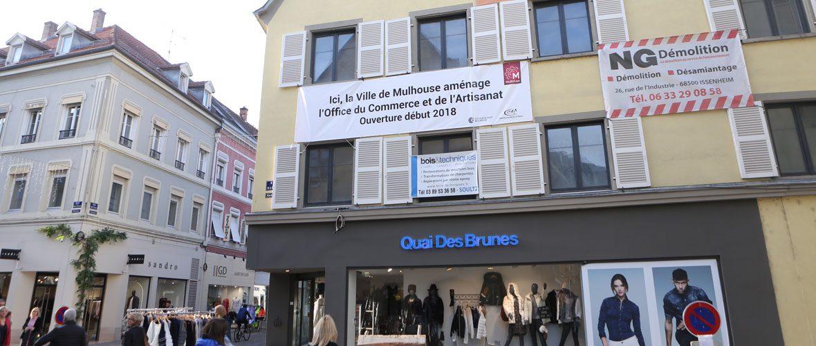 Un bâtiment totem pour le commerce et l'artisanat | M+ Mulhouse