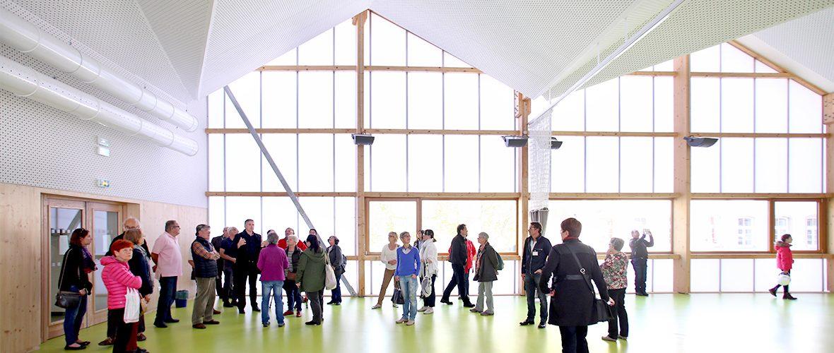 Des visites pour briser la glace autour de l'architecture | M+ Mulhouse