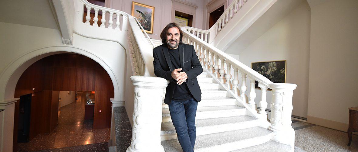Visite de l'expo Bal(l)ade avec André Manoukian | M+ Mulhouse