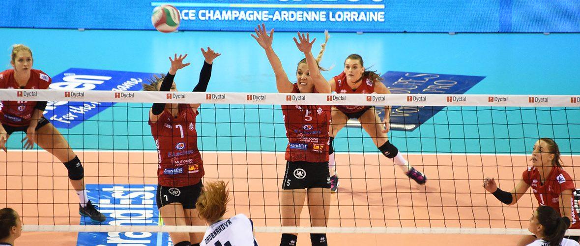 Volley: les championnes face aux promues ce soir pour la reprise   M+ Mulhouse