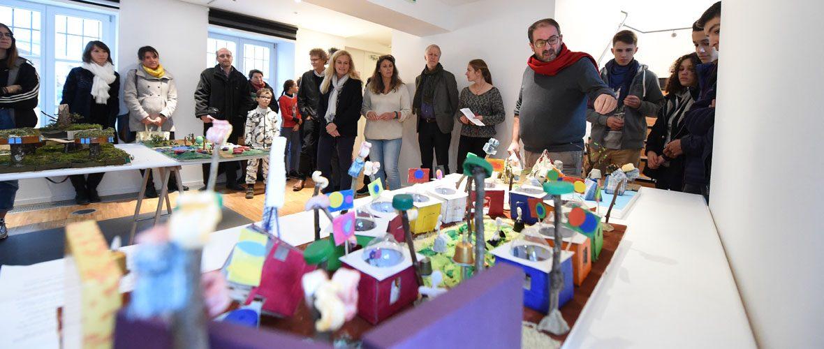 Architecture : quand les élèves construisent leurs villes | M+ Mulhouse