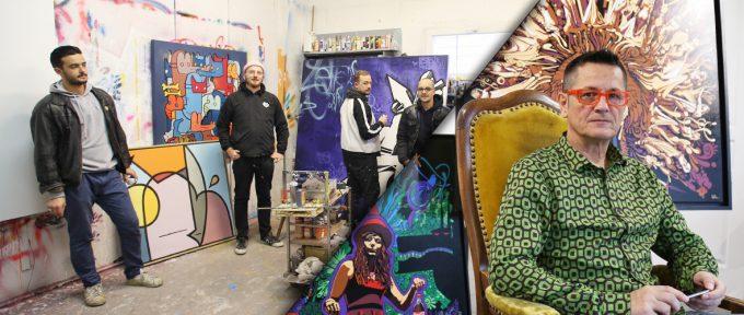 Art3f: rencontre avec Paxal et le collectif Schlager