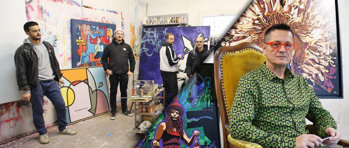 Art3f: rencontre avec Paxal et le collectif Schlager | M+ Mulhouse