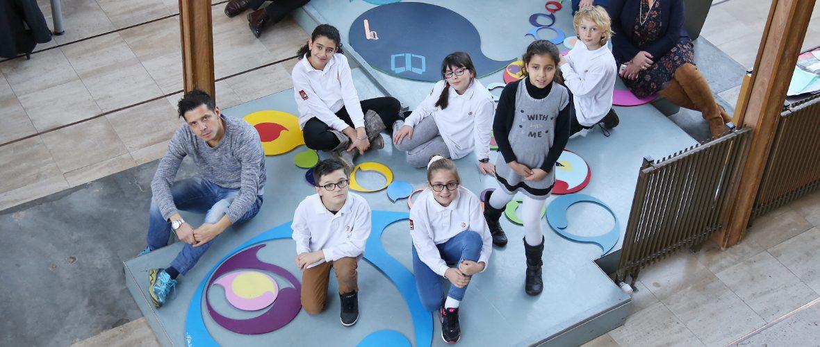Une «fresque» pour célébrer les droits de l'enfant | M+ Mulhouse