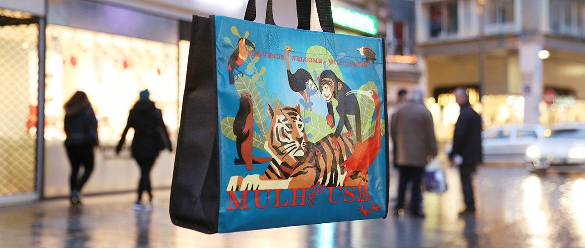 Le sac shopping du Cœur de Mulhouse est arrivé!   M+ Mulhouse