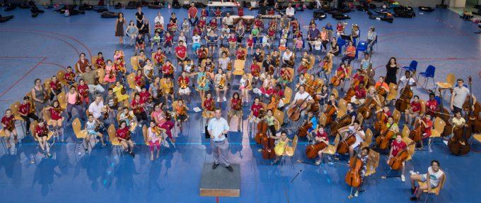 Premier concert grand public pour les jeunes musiciens de Démos