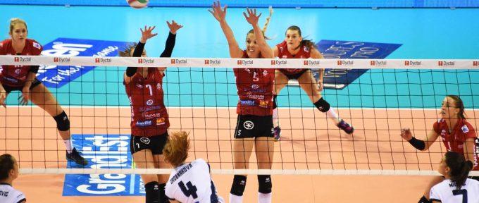 Ligue des champions: les filles de l'Asptt Mulhouse dans le gotha du volley européen