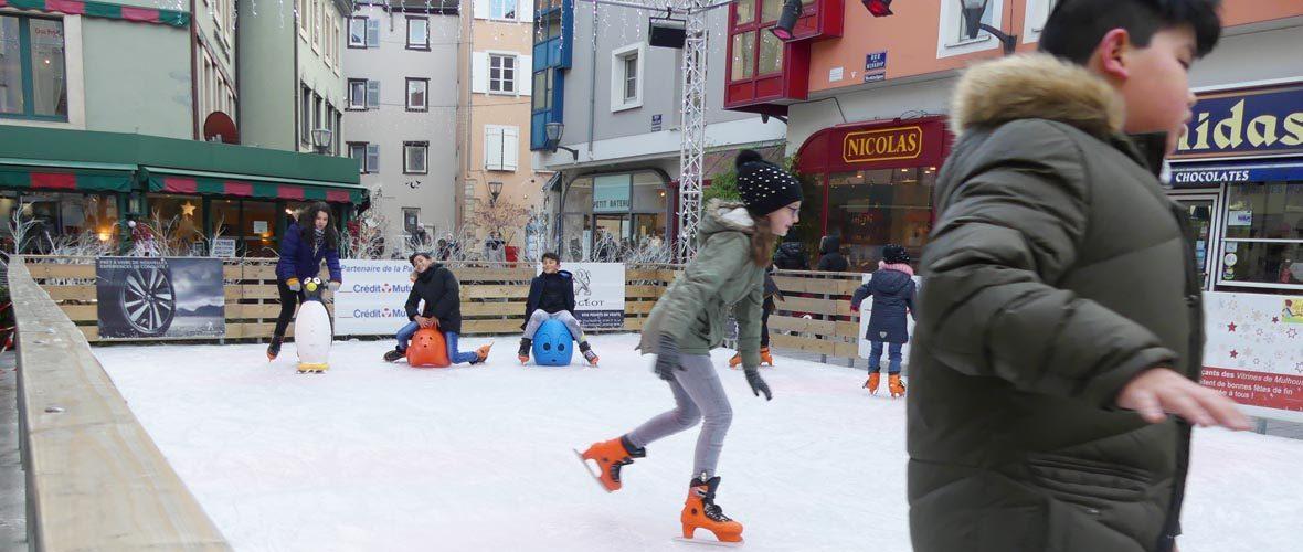 A la patinoire «enchantée», c'est Noël jusqu'au 7 janvier!   M+ Mulhouse