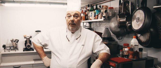 En cuisine avec le chef Renaud Chabrier