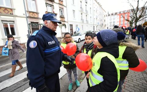 Conseil Municipal des Enfants : action de sensibilisation à la sécurité routière
