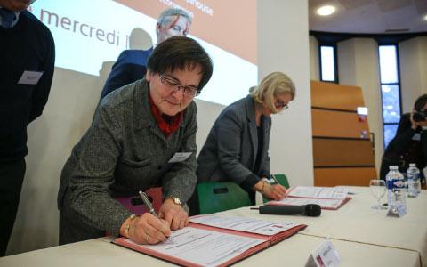 Convention de partenariat entre le CRM, la Ville de Mulhouse et m2A