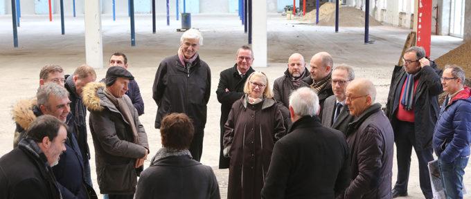 Tour d'horizon des grands projets mulhousiens pour le préfet de région